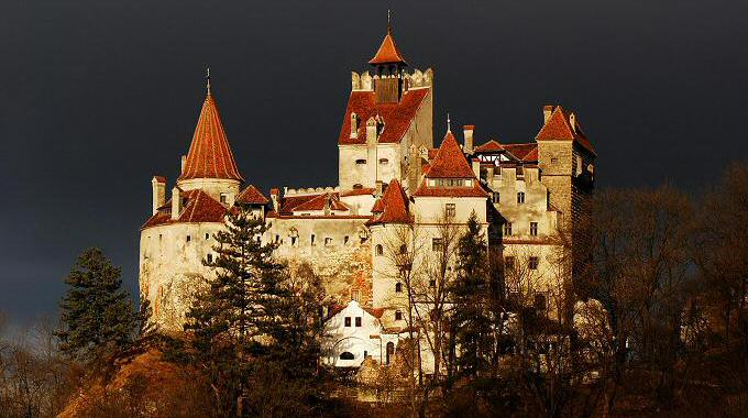 Image result for Dracula's Castle, Romania""